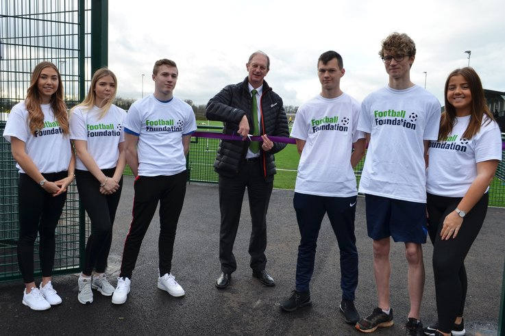 Stephen Criddle OBE Principal And CEO - South Devon College Offically Opens The South Devon College Sports Centre (1)