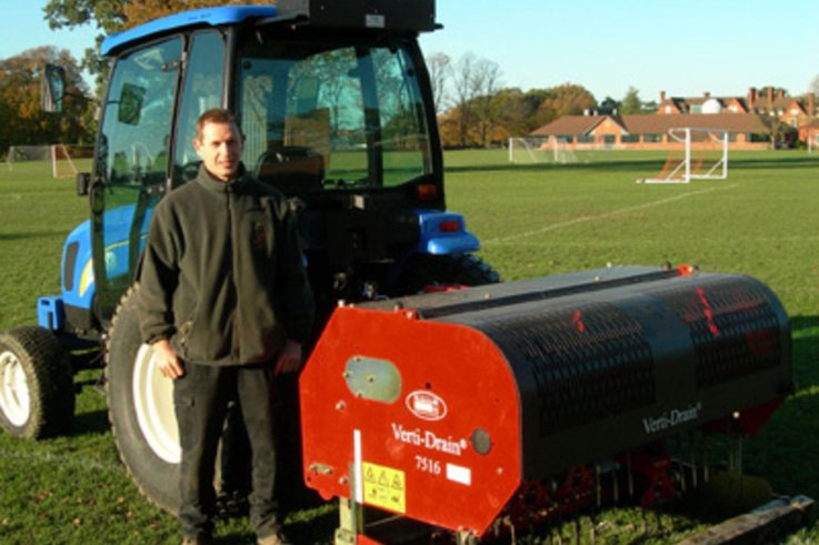 Turf Care evolves at Shrewsbury School.