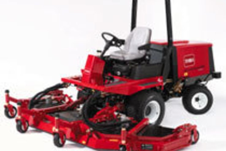 New Toro Groundsmaster was one of a kind