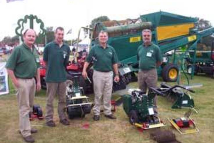 A choice of turf cutters