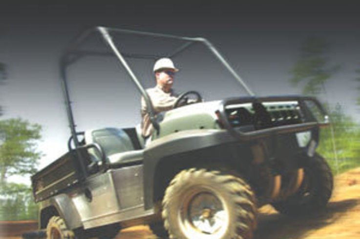 Be first to hit the road with Club Car's Carryall 294 AWD