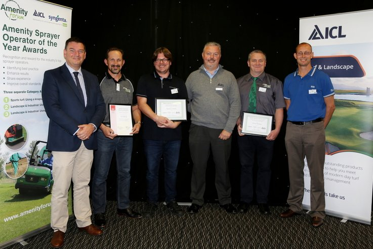 Amenity sprayer awards