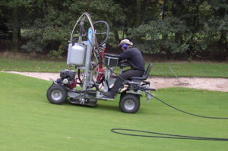 Aeration Additives save money by conserving water