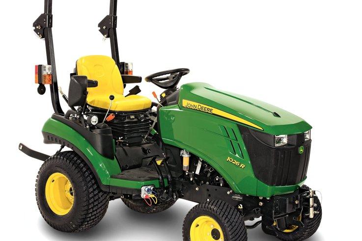 1026R compact tractor studio A