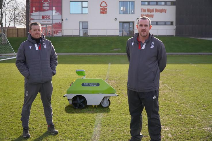 Turf Tank - Nottingham Forest Grounds Manager Ewan Hunter and Academy Head Groundsman Matt Tietjen.jpg