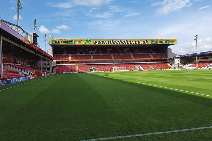 Walsall FC Pitch 1