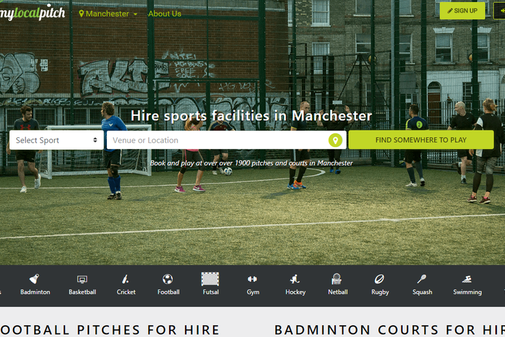 Manchester homepage