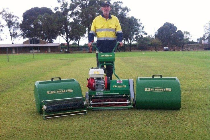 Dennis FT510 in Australia Cricket Pitch