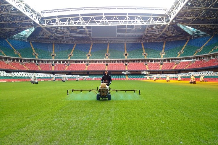 Complete Weed Control visit Millennium Stadium ahead of Six Nations