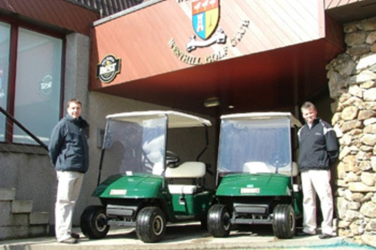 Golf Cars for Westhill Golf Club