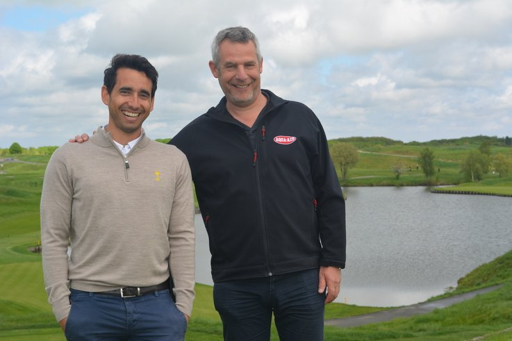 Alejandro Reyes Le Golf National with Hans de Kort Aqua Aid EU (6)