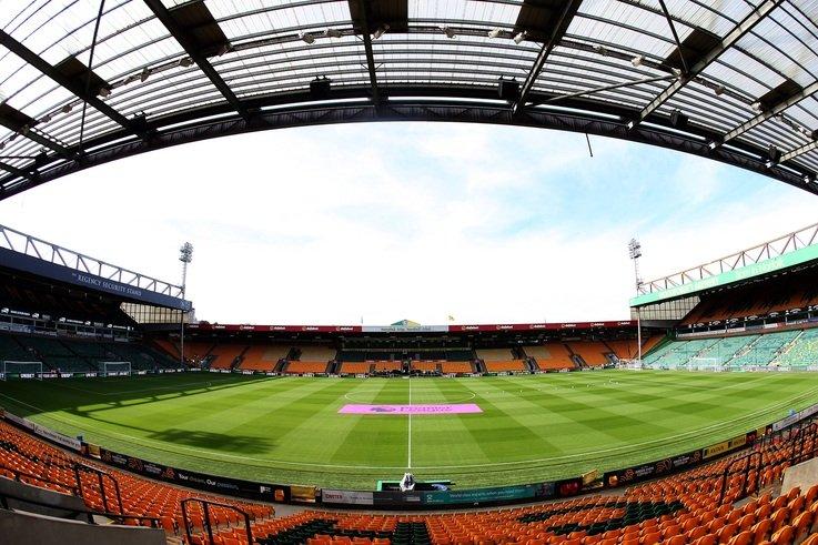 Norwich City Pitch Image