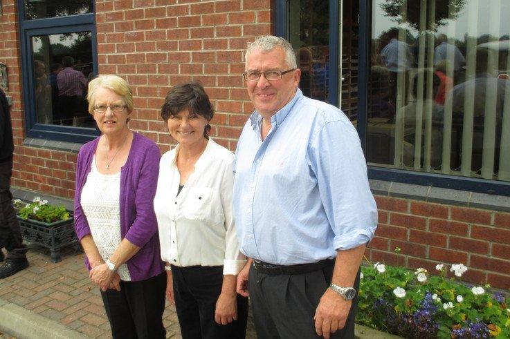 Jean Campey, Jane Middleton, Richard Campey