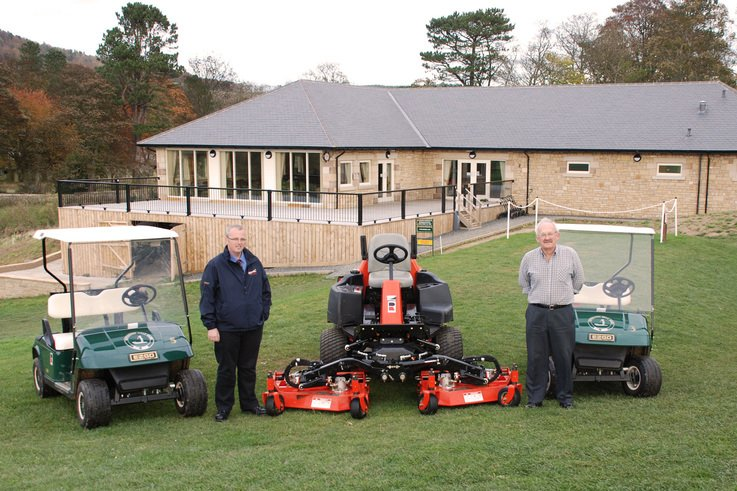 Jacobsen Mowers and E-Z-GO Golf cars for Rothbury GC