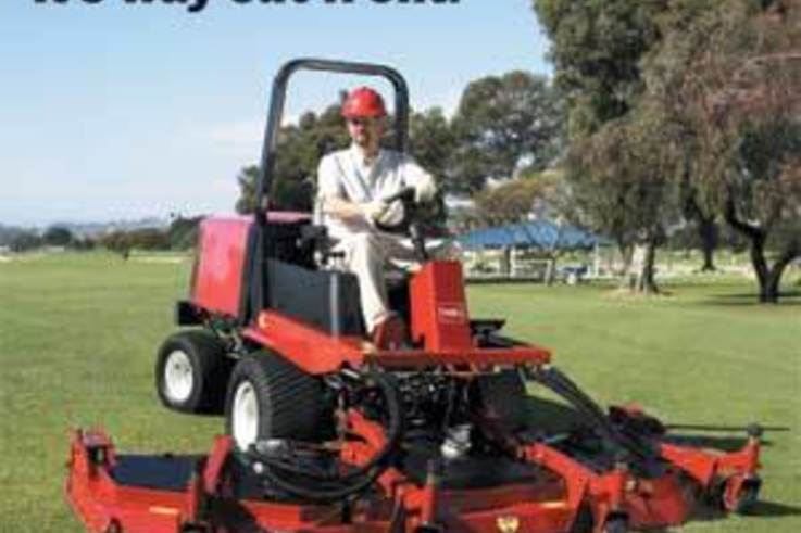 Powerful contour-mowing technology from Toro