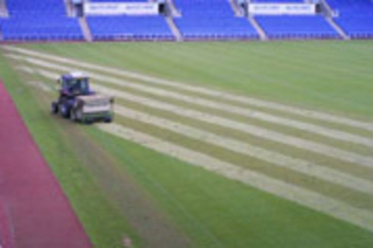 Heavy scarifying the order of the day at Reading