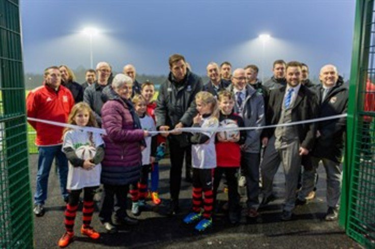 Grant Holt Opens Pitch
