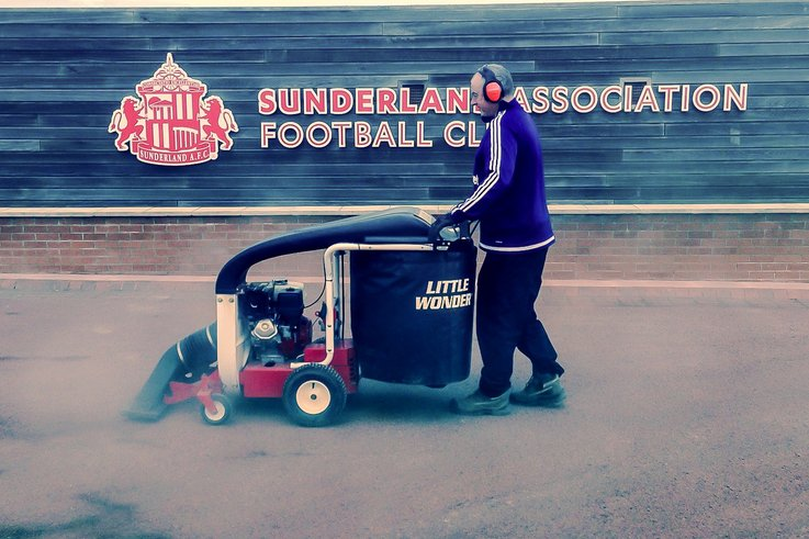 Little Wonder at Sunderland AFC 0416