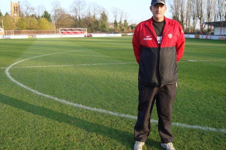 Groundsman   Mark Wiley
