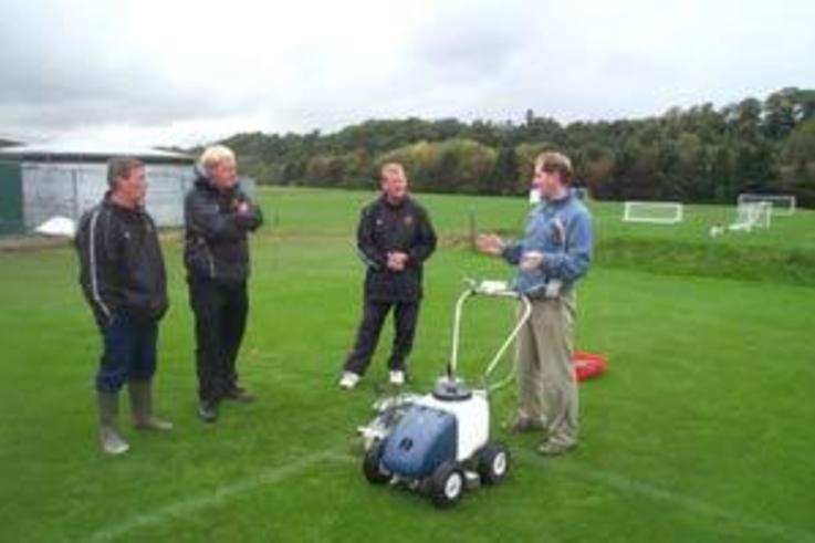 New technology aids marking out