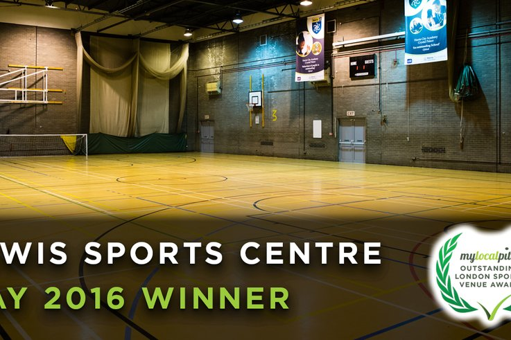 Lewis Sports Centre award image 2