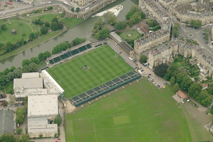 Stadium for Bath Existing site