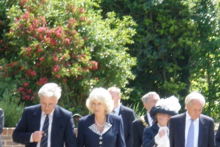 HRH The Duchess of Cornwall at Plumpton College SD