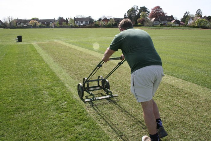 CricketRenovation Scarifying