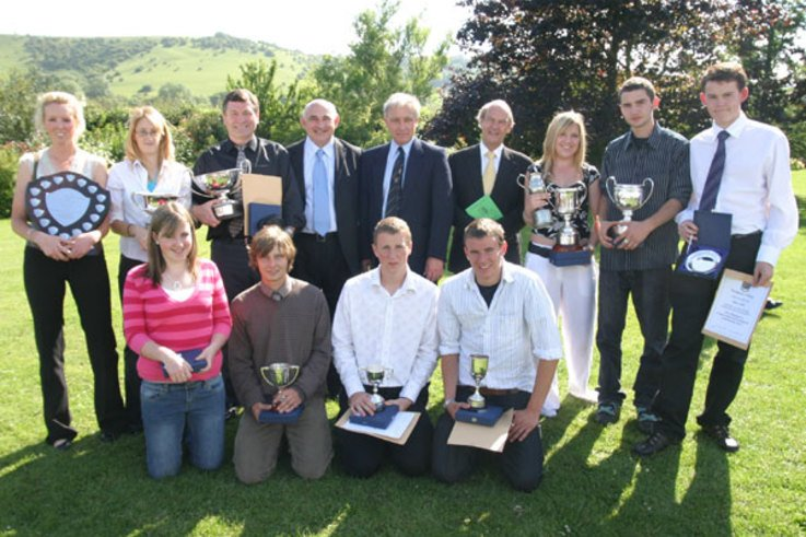Awards ceremony ends a successful year at Plumpton College