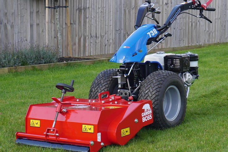 CAMON BC65 Lawn Scarifier   Fitted to BCS 738   Static