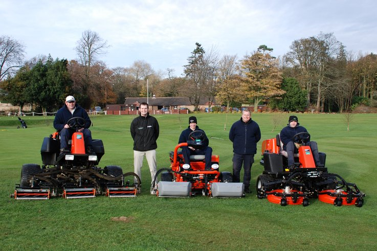 Jacobsen equipment raises the standards at Gogarburn GC