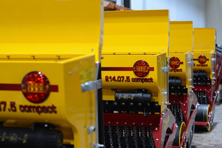 Vredo Compact Overseeders Delivered To Russia
