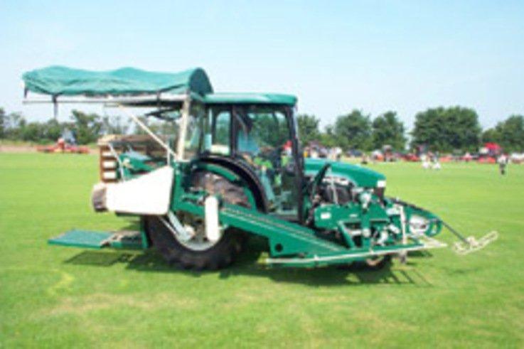 Campeys introduce enhanced Poyntz Turf Harvester