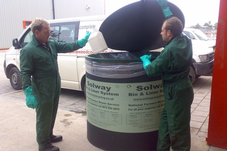 CWC recycling scheme takes care of empty chemical containers