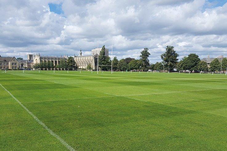 Cheltenham College rugby field