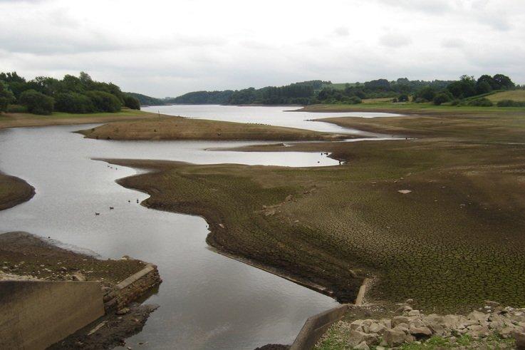 Photos   Critically Low Reservoir Level