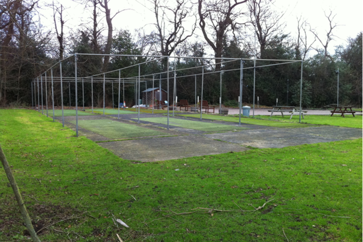 Botany Bay CC's old cricket practice nets