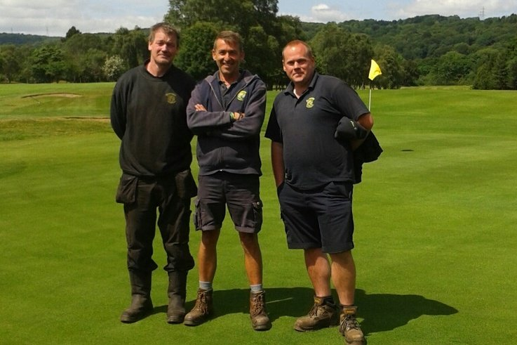 Shipley GC   Matt Waddington, Nigel Graham, Phil Dickerson
