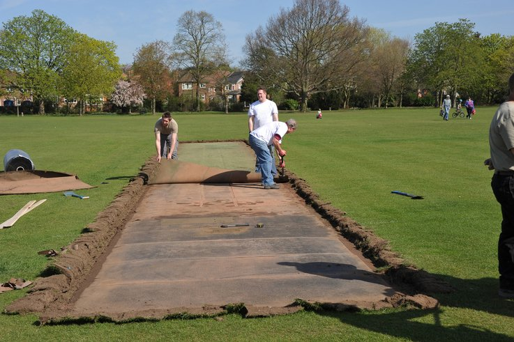 Notts Sport   10,000th Installation at Sawley & Long Eaton Park Cricket Club