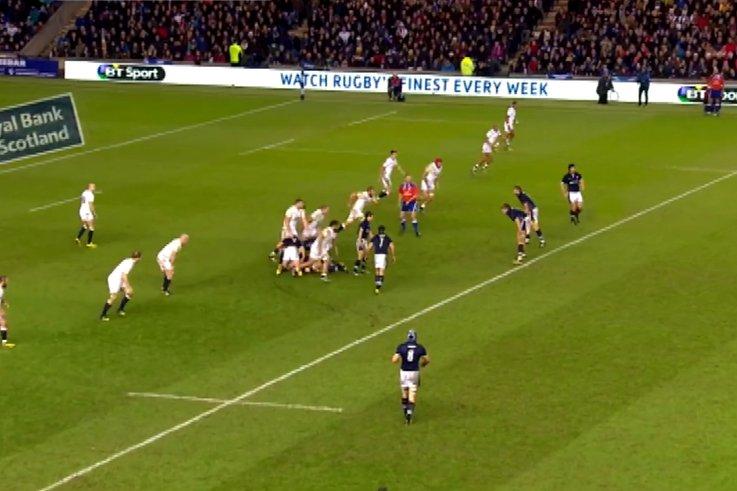 RBS 6 nations Scotland v England STB no ball