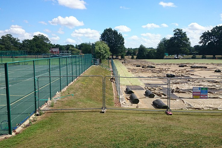 Site Refurbishment including new Fence