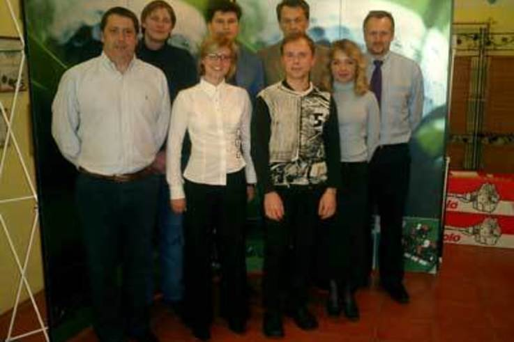 Ransomes Jacobsen attend Moscow Golf EXPO