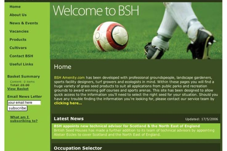 BSH launches new amenity website
