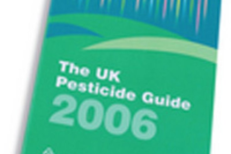 UK Pesticide Guide 2006 Now Available