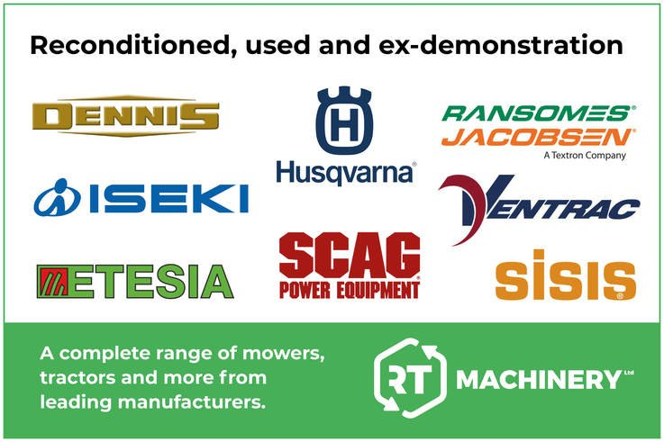 R T Machinery Ltd - Pedestrian Mowers