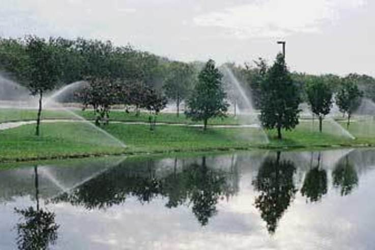 Irrigation for sports turf