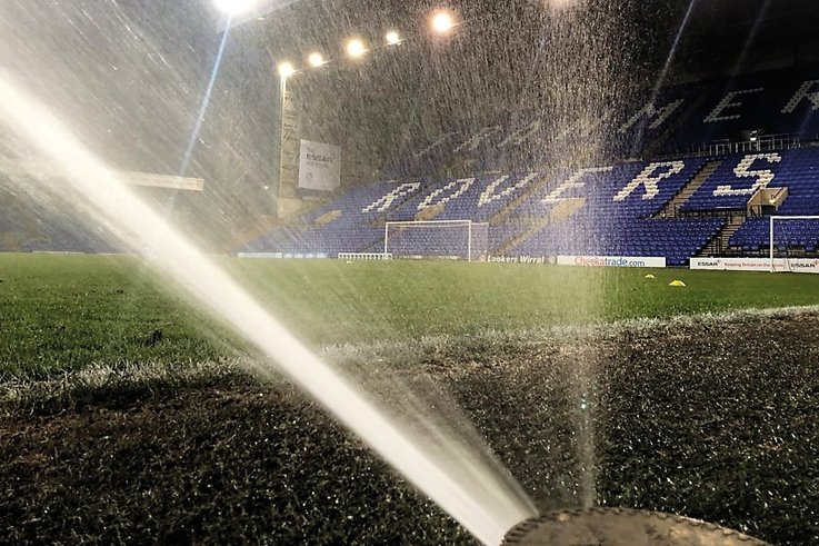 Tranmere-Rovers-FC Sprinkler