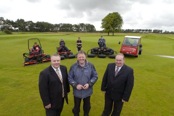 Carnoustie signs up with TORO again