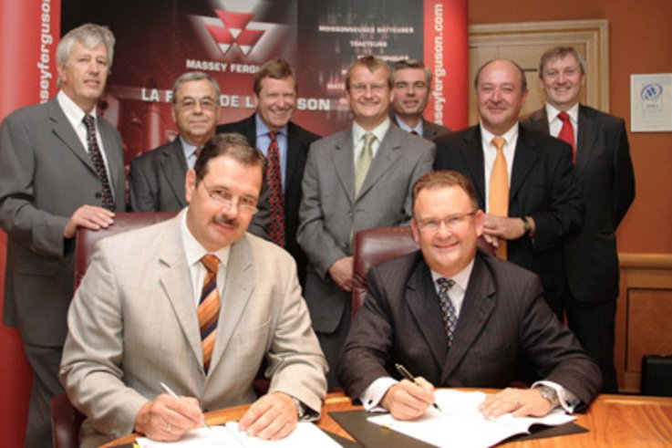 Massey Ferguson signs new partnership agreement to serve Turf Care Industry