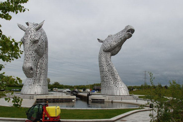 Gianni Ferrari T4 Cruiser at Helix Park in front of the Kelpies 2015 (4)